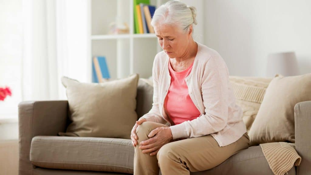 Senior Knee Pain